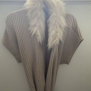 JLo Cardigan With Faux Fur for Sale in Sandy, UT