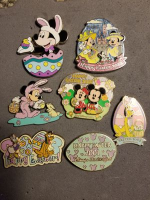 Disney pins Easter editions for Sale in Boothwyn, PA