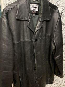 Leather Coat Very Soft for Sale in Caldwell,  ID