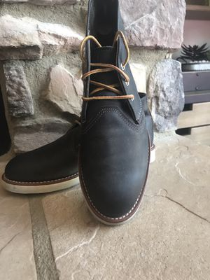 Red Wing Men's Leather 3150 Heritage Charcoal Chukka Style Boots Size 8D for Sale in Phoenix, AZ