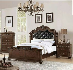 Closeouts Liquidations Queen size bed frame only for Sale in Ontario, CA
