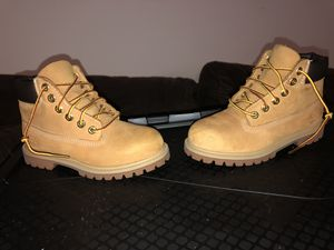 Timberland boots/shoes kids size 12 for Sale in Aspen Hill, MD