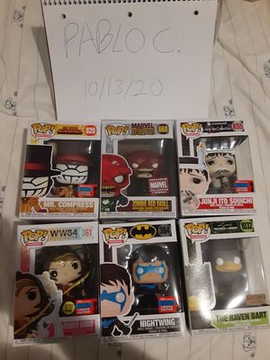 Funko Pops for Trade Only for Sale in Riverside, CA
