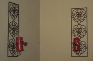 Wall Sconces Candle Holders - Set Of 2 for Sale in Novelty, OH