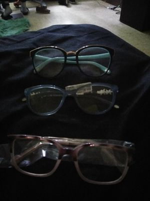 Three pair of designer frames. 2 pair of Tiffany Co, and 1poair Michael Kor . 100 a pair for Sale in Indianapolis, IN