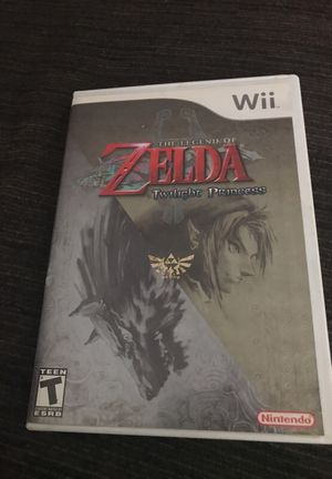 Zelda Twilight Princess Wii for Sale in Silver Spring, MD