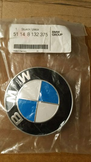BMV Genuine 51148132375 Trunk Lid Emblem for Sale in Downey, CA