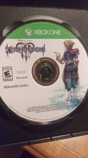Kingdom Hearts 3 for Sale in Easley, SC