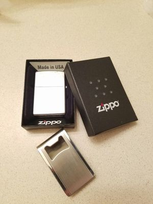 Waterproof Zippo lighter brand new (no clip just zippo) for Sale in Boring, OR