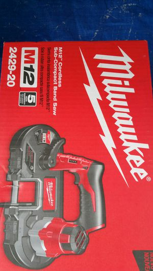 $140 Milwaukee M12 12-Volt Lithium-Ion Cordless Sub-Compact Band Saw (Tool-Only) for Sale in Evergreen, CO