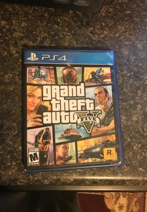 GTA 5 PS4 for Sale in Raleigh, NC