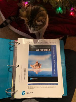 Math Textbook -USED for Sale in Wenatchee, WA