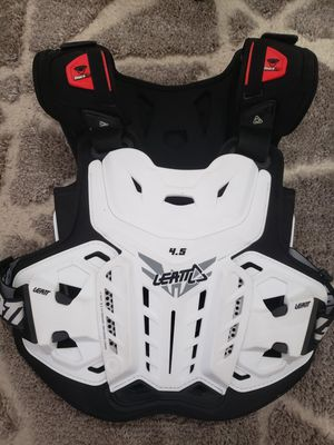 Motorcycle vest, chest and back plate - size large for Sale in Miami, FL