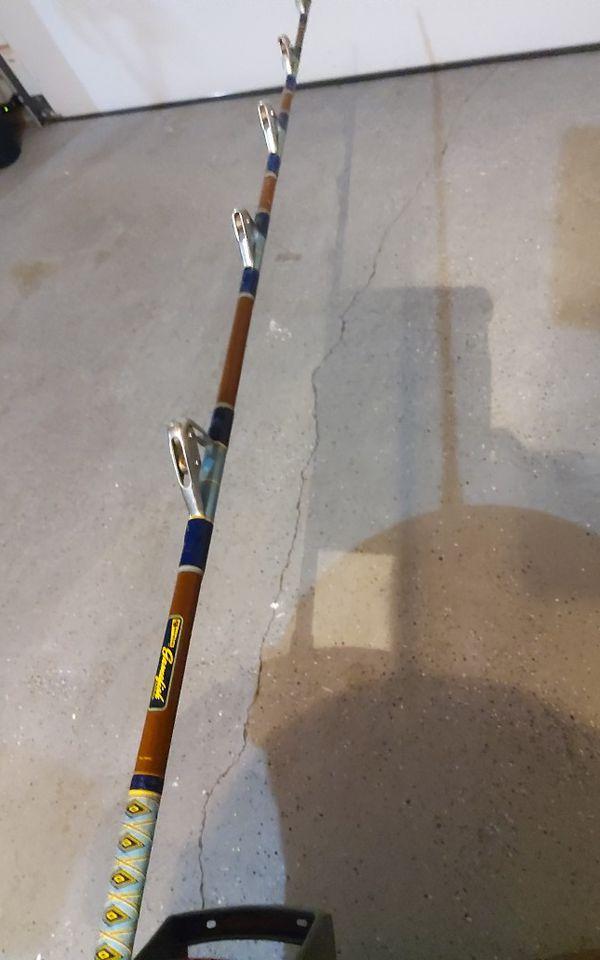 Garcia Gamefish Series C599 Trolling or Fishing Rod & Daiwa Reel