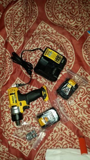 Dewalt 12v drill set 2 batteries and charger included brand new for Sale in Madison, FL