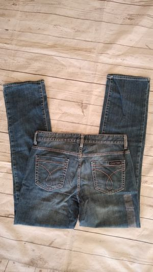New Beautiful Calvin Klein jeans ( women's size 10 ) New with tag for Sale in Frederick, MD