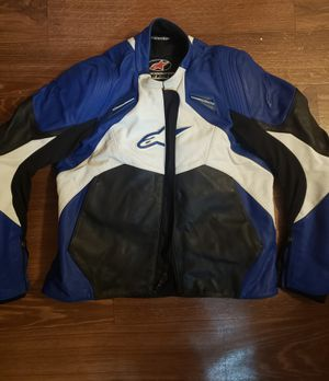 Alpine star leather motorcycle jacket for Sale in Baltimore, MD