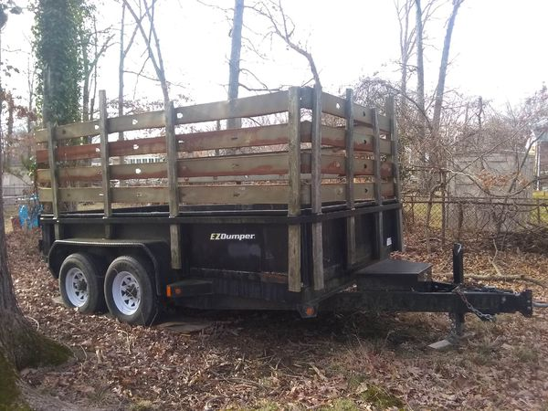 Trailer for sale hauling truck