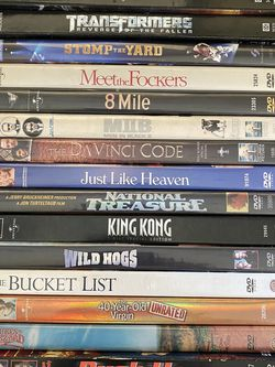 14 New- Slightly Used DVDs $3 Each for Sale in Fresno,  CA