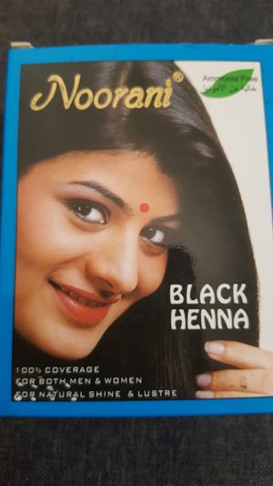 Black color Henna Noorani in box for Sale in Los Angeles, CA