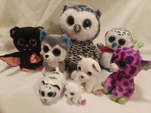 Big Eyed Plush Pets for Sale in West York, PA