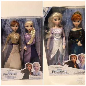 Disney store frozen 2 dolls sets for Sale in Chula Vista, CA