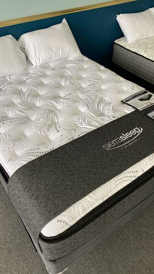 16'' Thick Queen Pillow Top Mattress with Memory Foam Topper CPI J for Sale in Grand Prairie, TX