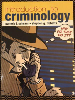 Book - Criminology Book College for Sale in Miami Gardens, FL