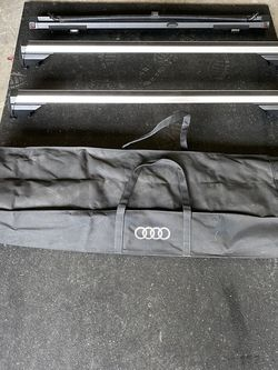 Audi Roof Rack w Case & Privacy Cover for Sale in Woodinville,  WA