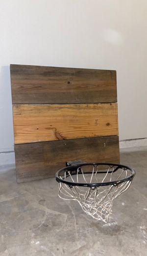 Basketball Backboard with Steel Hoop & Net for Sale in Austin, TX