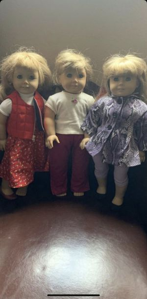 Vintage American girl dolls $90 for all price is firm for Sale in North Las Vegas, NV