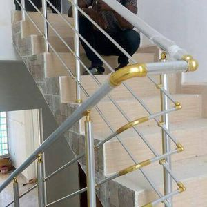 If u want a railing that will never rust and stand a test of time call on us, our aluminum railings are used for staircases, terraces ,swimming pool for Sale in Newark, NJ