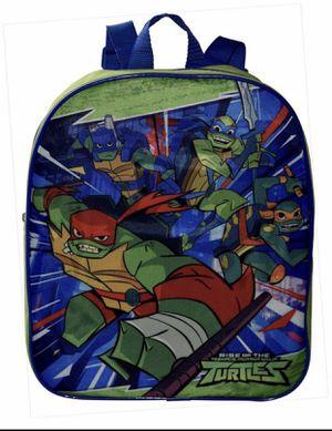 """Nickelodeon TMNT Ninja Turtles 12"""" Small School Bag Backpack for Sale in Los Angeles, CA"""