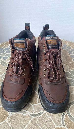 ARIAT BOOTS NEW SOFT TOE WATERPROOF SIZE 8.5 MEN'S for Sale in Montebello, CA