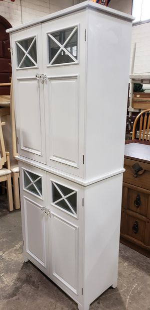 Storage double cabinet for kitchen or bathroom for Sale in Chicago, IL