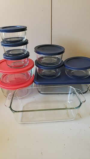 Pyrex & Anchor glassware for Sale in Whittier, CA