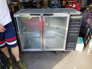 Beverage air commercial bar fridge (under counter) for Sale in Moseley, VA