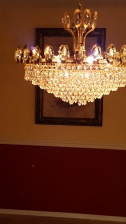 Crystal Chandelier for Sale in Lynnwood,  WA