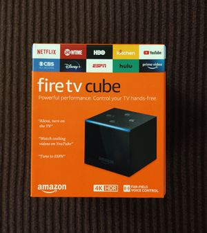 Amazon Fire TV Cube 2nd 4K HD Streaming for Sale in Midlothian, IL