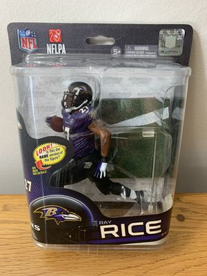 Baltimore Ravens Ray Rice Action Figure for Sale in Tampa, FL