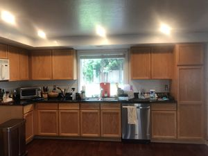 Solid wood kitchen cabinets for Sale in Kirkland, WA