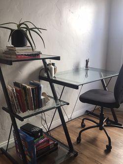 3 Tier Glass Desk for Sale in Los Angeles,  CA