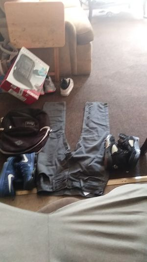 Nikes Jordans Adidas bookbag Levi's 30-30 give me an offer for Sale in Detroit, MI