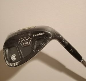 New Cleveland RTX 2.0 Black CB 56* 2 Dot Golf Sand Wedge for Sale in West Covina, CA
