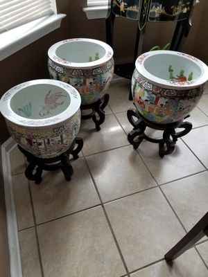 Oriental chinese porcelain bowls for Sale in Chesapeake, VA