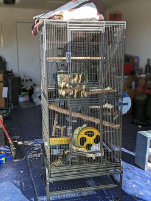 Large Cage w/ accessories for Sale in Tucson, AZ