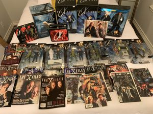X-Files collectibles lot for Sale in Sun City, TX