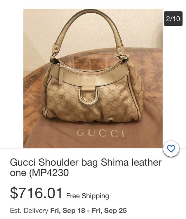 Ring Hobo Guccissima Leather