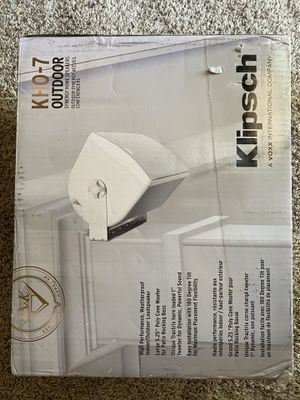 Klipsch WeatherProof Speakers for Sale in Fresno, CA
