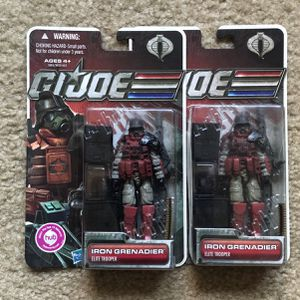 GI JOE 30th Anniversary 2011 IRON GRENADIER Action Figure MOC - GiJoe for Sale in Huntington Beach, CA